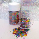 Pride - Holographic Rainbow Loose Chunky Glitter Mix