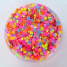 Totally 80's - Chunky Loose Black Light Reactive Glitter Mix