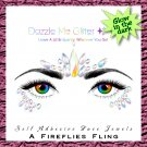 A Fireflies Fling - Reusable self adhesive face and body gems