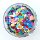 Heartz Desire - Heart Shaped Holographic Loose Cosmetic Glitter