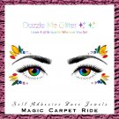 Magic Carpet Ride - Reusable self adhesive face and body gems