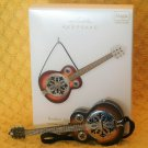 Hallmark Rockin' Around the Christmas Tree Guitar Ornament Magic Sound 2011