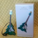 Hallmark Rockin' Around the Christmas Tree Guitar Ornament Magic Sound 2012