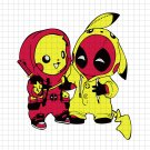 Deadpool svg, Superhero svg, deadpool cliart, marvel svg,deadpool, pikachu svg