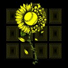My favorite player calls me mom svg, Sunflower Softball svg, png, dxf, vector for cricut