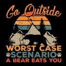 Go Outside svg,  Camping Svg, adventure svg, bear svg, donal svg, disney characters svg
