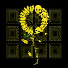 You Are My Sunshine Sunflower Skulls svg, png, dxf, vector for cricut
