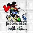 Wrong Park shirt - Funny T-rex Dinosaur Wrong Park svg, Wrong Park svg, png, dxf, vector for cricut