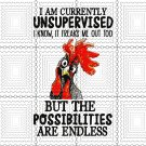 I Am Currently Unsupervised. I Know, It Freaks Me Out Too. But The Possibilities are Endless