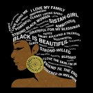 Black svg, black girl svg, I Love My Roots svg, Black History svg