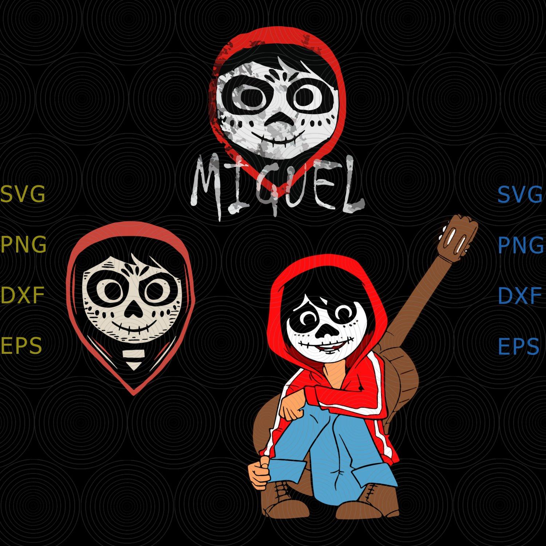 Pixar Coco Miguel Face svg, Pixar Coco svg, Miguel Face svg, Pixar Coco shirt