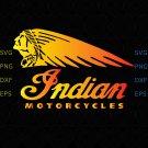 Indian Biker T-Shirt Mens Ringer Motorcycles Motorbike svg, png vector for cricut