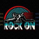 Rock on Curling Winter Sports Skip Bonspiel shirt, Rock on svg, Silhouette Cricut