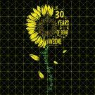Sunshine 30th birthday, you are my shunshine svg, 30th Birthday svg, vintage 1989 SVG