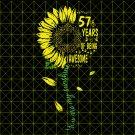 57th Birthday SvG, Vintage 1962, Birthday SvG, Party, Birthday Design, DxF