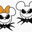 Halloween SVG,Jack Skellington svg,Mickey Jack Skellington svg,Disney Halloween svg