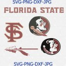 Florida State Seminoles University Svg Logo Cutout Logos Football FSU svg, png ,dxf
