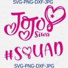 Jojo siwa squad svg,Jojo siwa logo svg,Jojo siwa svg,Jojo siwa shirt svg,Jojo siwa shirt