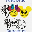 Jack Sally Boo svg, disney bundle svg, Jack sally svg, disney halloween svg, bee boo svg, grinch svg