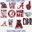 Alabama Crimson Tide, Alabama Crimson Tide svg, Alabama  clipart, logo, Alabama cricut