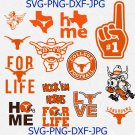 University of Texas SVG, longhorns svg, college logo bundle svg, files for cricut