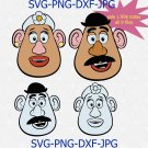 Disney Toy story Mr. and Mrs potato head Disney quote, DISNEY Characters, Disney SVG
