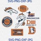Denver Broncos logo, Denver Broncos svg, Denver Broncos cricut, NFL Denver Broncos svg