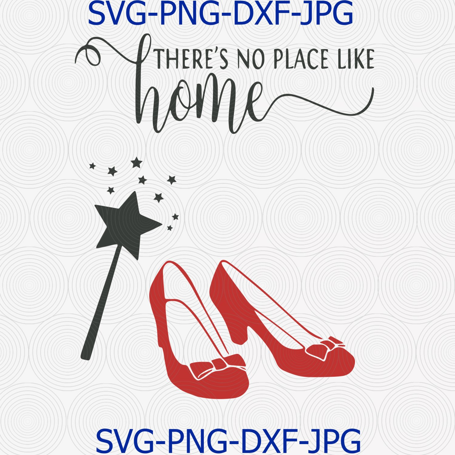 No place like home svg,ruby red slippers svg, wizard of oz svg, dorothy svg,red shoes svg