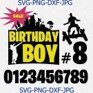 Fornite font svg, fornite svg, fornite alphabet svg, game font svg, birthday font svg