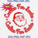 Cookies For Santa SVG, Merry Christmas Svg, Santa Cookies Svg, funny christmas