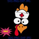 Nurse Turkey Funny Turkey Face Thanksgiving Day Costume Autumn