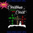Christmas Begins With Christ Costume Xmas Gifts PNG Download