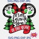 It's My Favorite Time of Year SVG, Merry Chrismas svg Disney svg, Disney Christmas