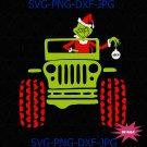 Grinch Driving Jeep SVG, grinch, grinch svg, the grinch, dr seuss svg, dr seuss digital