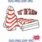 Tis The Season SVG, Christmas svg, Digital Sublimation Tis the season Debbie