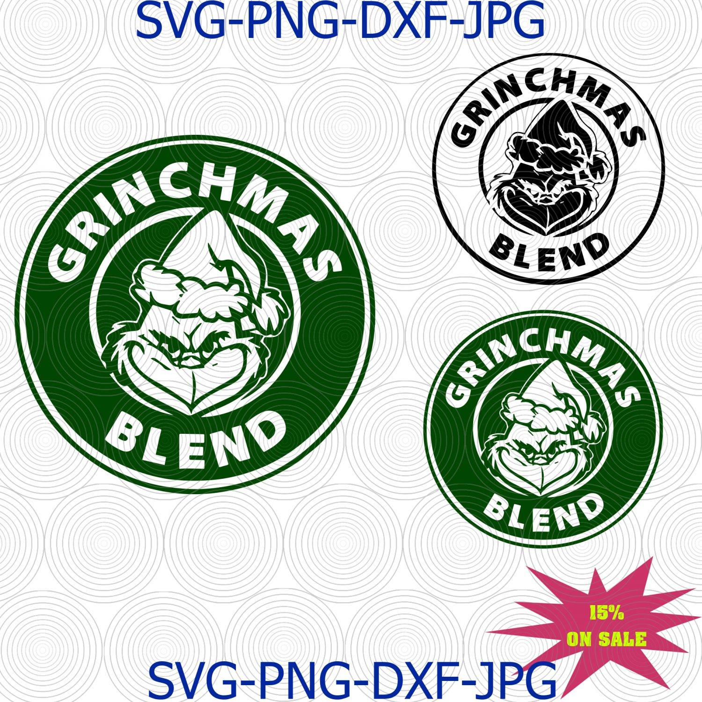 Starbucks Coffee Grinchmas Blend SVG | PNG, Silhouette, Cricut