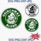 Starbucks Coffee Grinchmas Blend SVG | PNG, Silhouette, Cricut