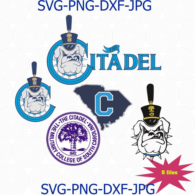 The Citadel logo svg, citadel bulldogs svg, the military college of south carolina svg