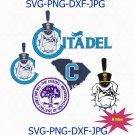The Citadel logo svg, citadel bulldogs svg, the military college of south carolina svg