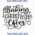 Baking Christmas Cheer Svg Png Cut File, Christmas Pot Holder Svg, Potholder Svg