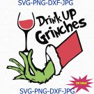 Drink Up Grinches svg, grinch svg, grinch gift, grinch shirt, grinch lover svg, grinch lover