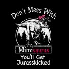 Mimisaurus Svg, Don't Mess With mimisaurus You'll Get Jurasskicked SVG, PNG, DXF