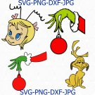 Max LAYERED SVG, Grinch Max SVG, Cindy Lou Who LAYERD SVG, Cindy Lou SVG