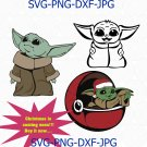 Baby Yoda SVG, Baby Yoda, Baby Yoda Vector, Baby Yoda Silhouette, The Child svg
