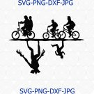 The Upside Down Stranger Things svg, stuck the upside svg for cricut, upside down stranger