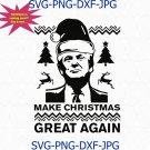 Trump Make Christmas Great Again, Funny Trump Santa Claus, Red Hat Ugly Sweater