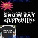 Snow Day Supporter Christmas Winter svg, Christmas svg, xmas cut file svg, png