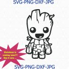 Groot svg, Baby Groot svg, dxf, png, Avengers svg, Guardians of the Galaxy svg