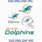 Miami Dolphins SVG, Miami Dolphins logo, Dolphins football svg, Dolphin svg