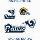 Los angeles rams SVG, Los angeles rams logo, rams football svg, rams svg, nfl